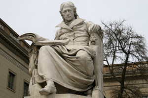 Humboldt statue