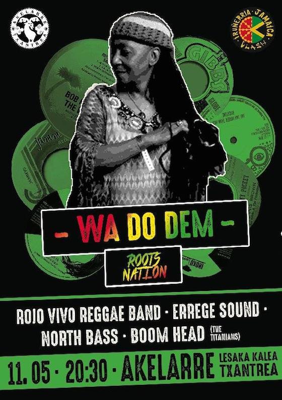 REGGAE FEVER: 90  hamarkadako taldeak gaurkoan Reggae Fever