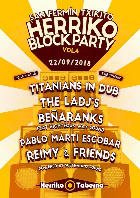 REGGAE FEVER: Kumahren disko berria eta Herriko Block Party