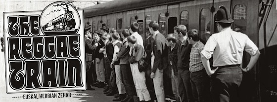 The Reggae Traina datorrela aprobetxatuz trenei buruzko berezia Reggae Fever irratsaioan