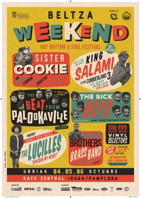 REGGAE FEVER: Beltza Weekend eta beste zenbait kontu
