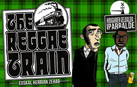 REGGAE FEVER: The Reggae Train dela eta, Akatz taldeari