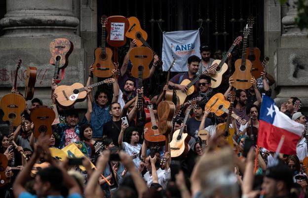 ERRO TA BERRI – Txileko protestetako soinu-banda