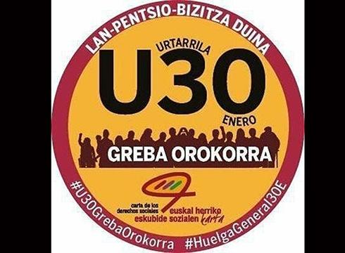 LUR ETA MURMUR: U30 – Greba Orokorra