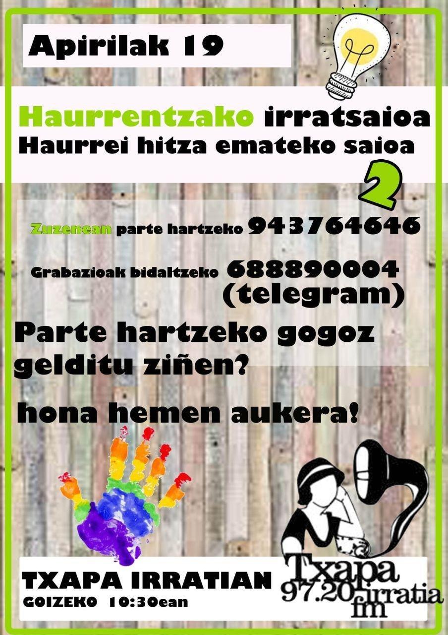 HAURREKIN 2. IRRATSAIO BEREZIA