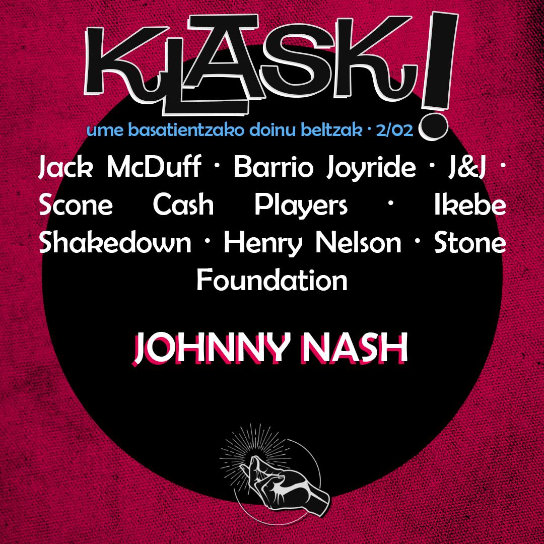 2/02 │ Nobedade Kutxa eta Johnny Nash, the soul singer