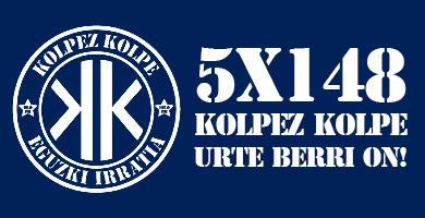 KOLPEZ KOLPE – 5×148 – Urte Berri On!