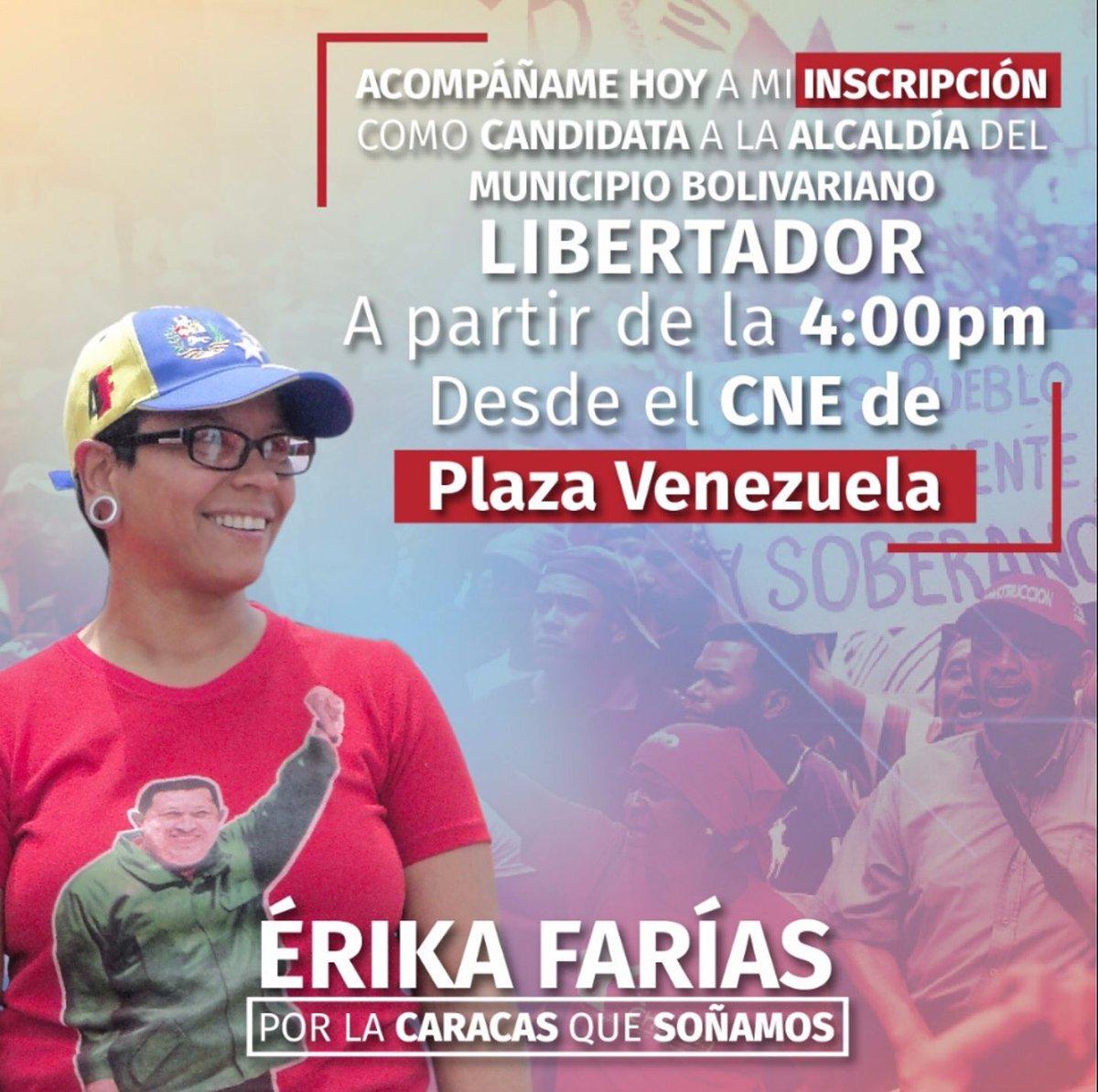 Elkarrizketa. Venezuelako Hauteskundeei buruz Erika Farías Peña Caracaseko alkatearekin. (Gazteleraz)