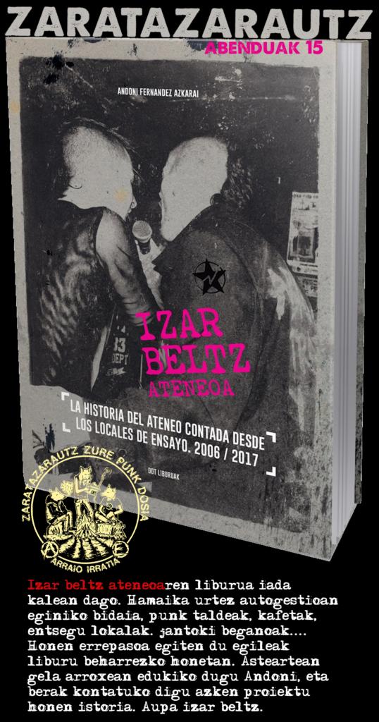 Izar Beltz ateneoari buruzko liburuaz ZarataZarautz saioan