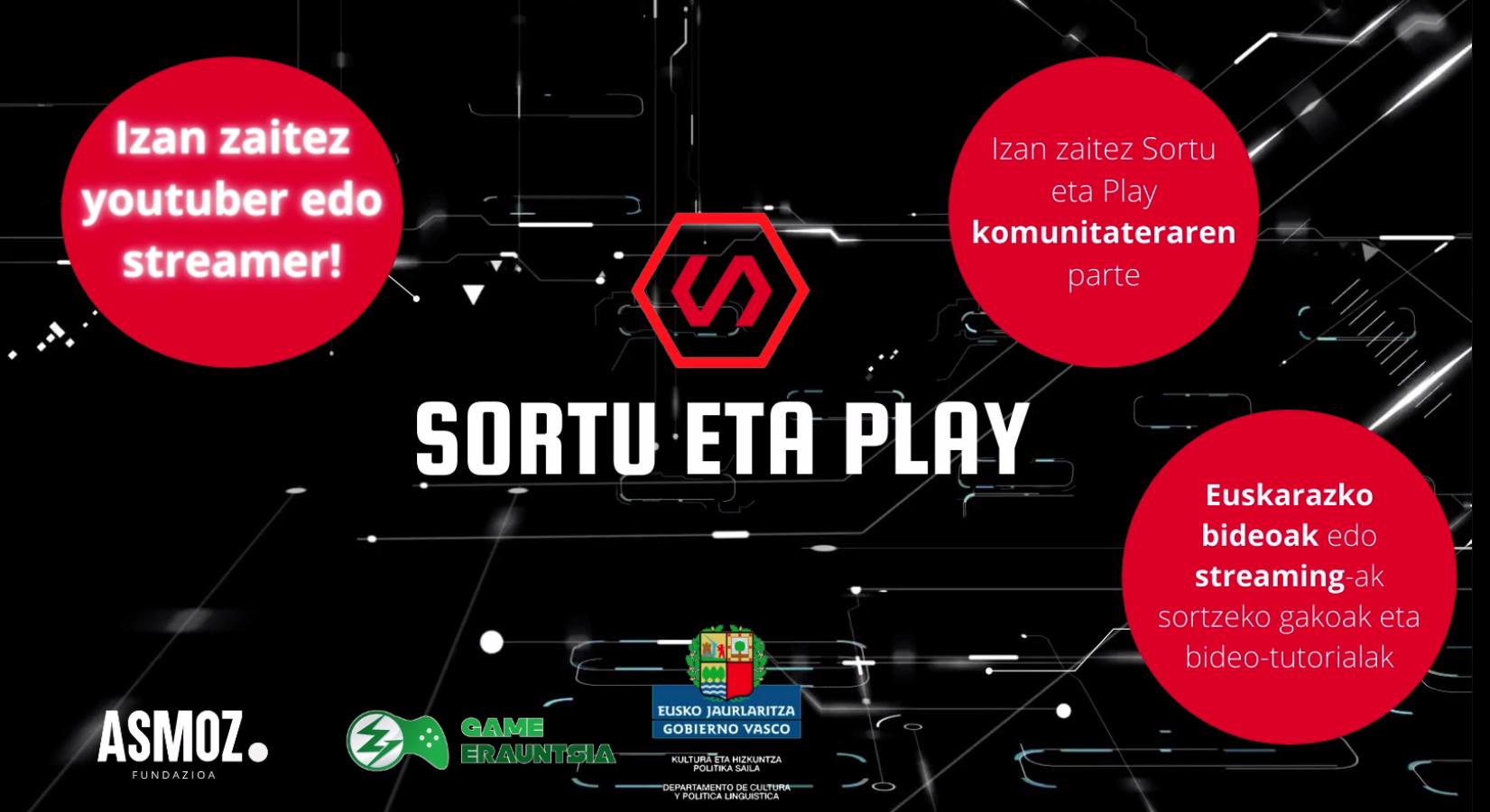 """SORTU ETA PLAY"" Plataforma"