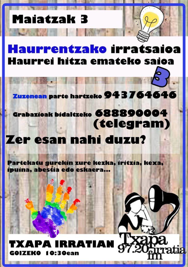HAURREKIN 3. IRRATSAIO BEREZIA