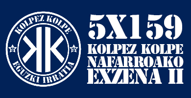 5X159 Kolpez Kolpe – Nafarroako exzena II