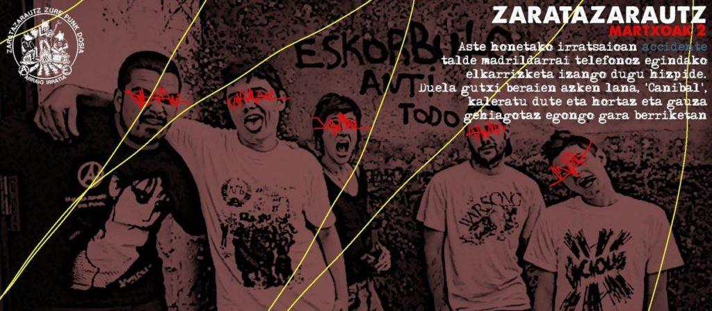 Accidente taldeko kideak ZarataZarautzen