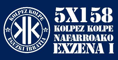 5X158 Kolpez Kolpe – Nafarroako exzena