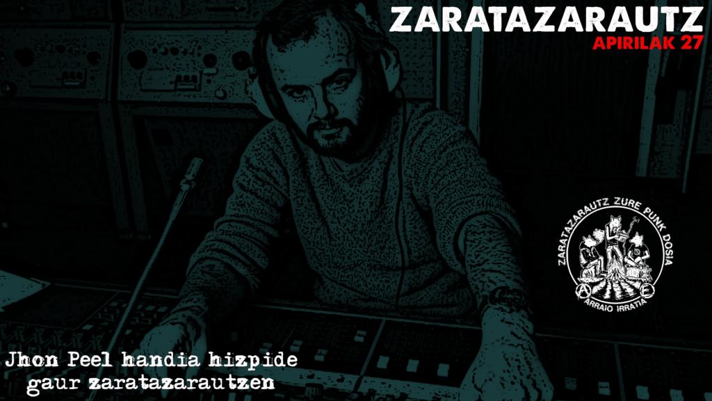 Peel Sessions-ak ZarataZarautzen
