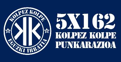 5X162 Kolpez Kolpe – Punkaratzea