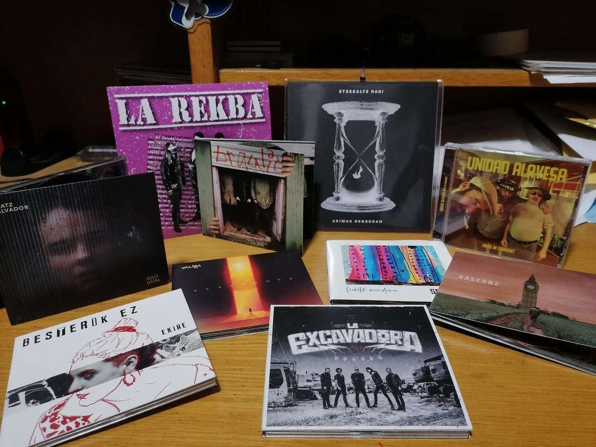 Hiru kortxea : Ekiñe, Vibora, ARRI!, La Rekba, Unidad Alavesa, The Bronx, Ian Kai…