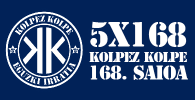 5X168 Kolpez Kolpe – 168. Saioa