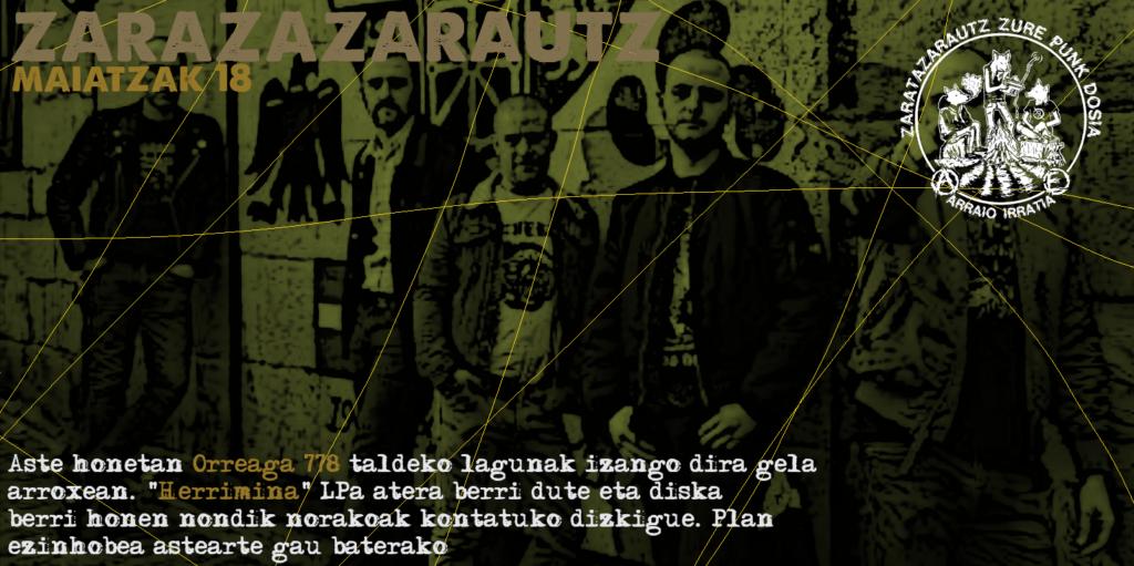 Orreaga 778ko kideak ZarataZarautzen