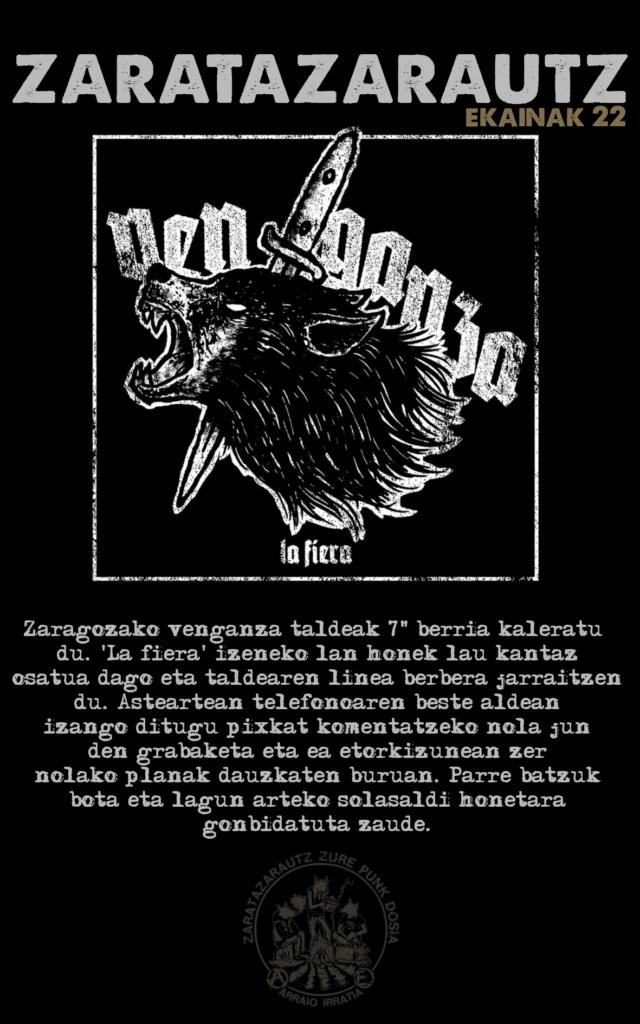 Venganza taldekoak ZarataZarautzen