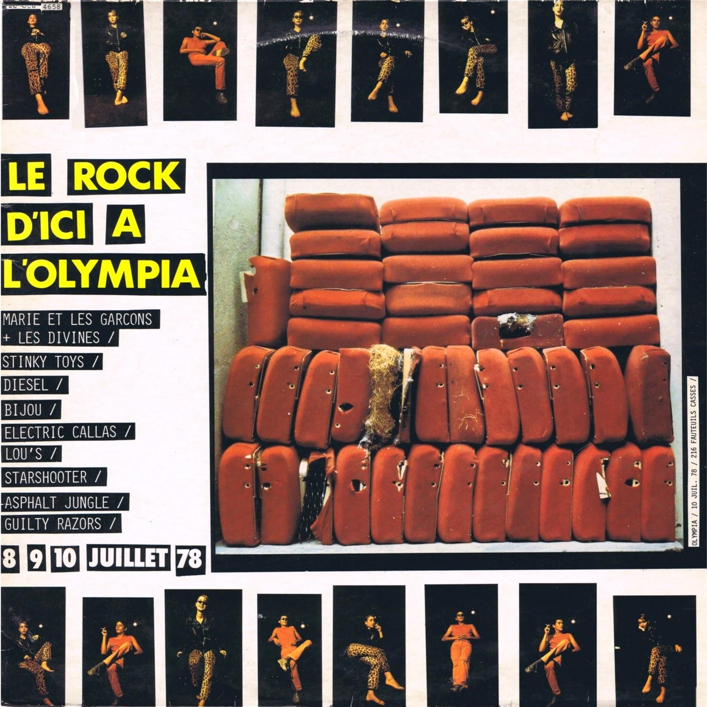 """Bidasoa Attak! – """"Le Rock d'ici a l'Olympia"""" bilduma eta Shitbone"""