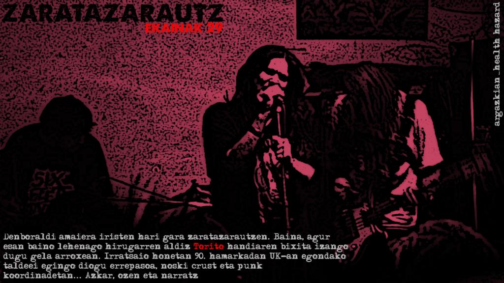 Toritorekin UK 90eko taldeak ZarataZarautzen