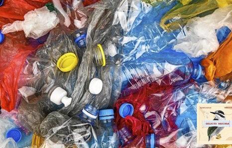 [22] 350 milioi tona plastiko ekoizten da urtean, erdia erabilera bakarrekoa da