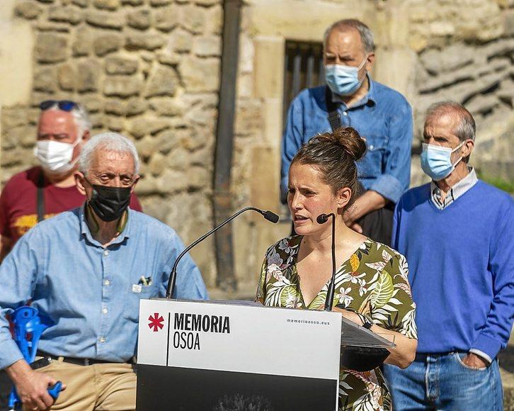 Nerea Martinez (Memoria Osoa): «Giza eskubideen urraketen arteko diskriminazioaren kontra egin behar dugu»