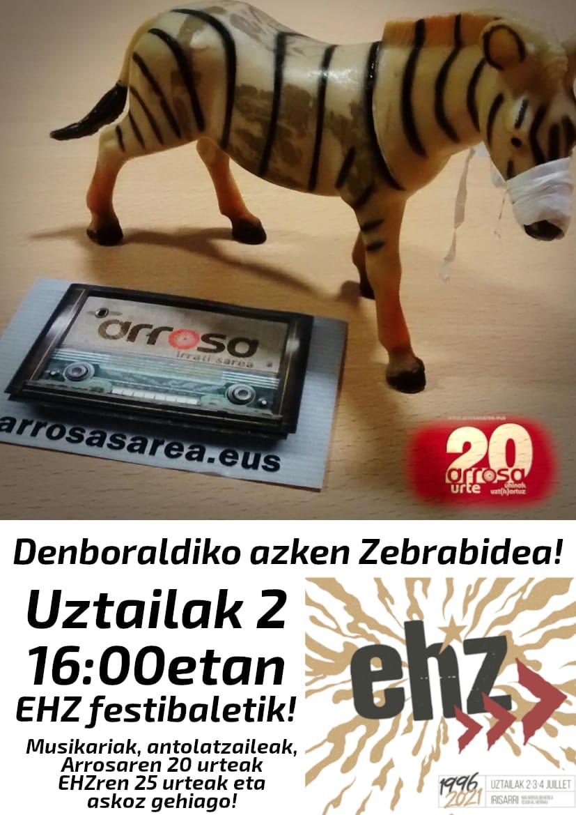 Zebrabidearen denboraldi amaiera EHZtik