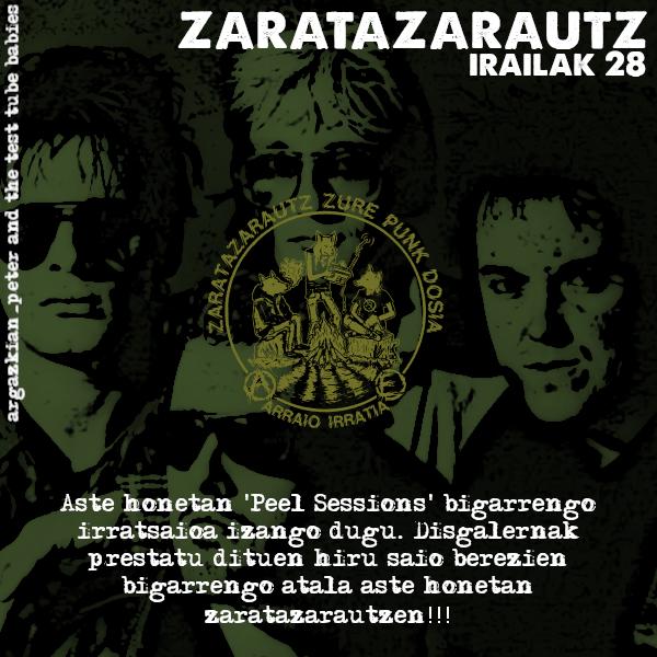 Peel Sessions-en inguruko bigarren ZarataZarautz irratsaioa