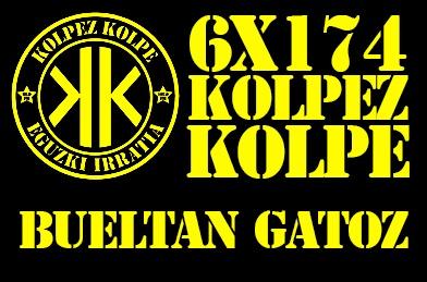 6X174 Kolpez Kolpe – Bueltan gara!