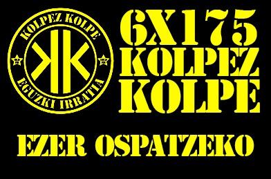6X175 Kolpez Kolpe – Ezer ospatzeko!
