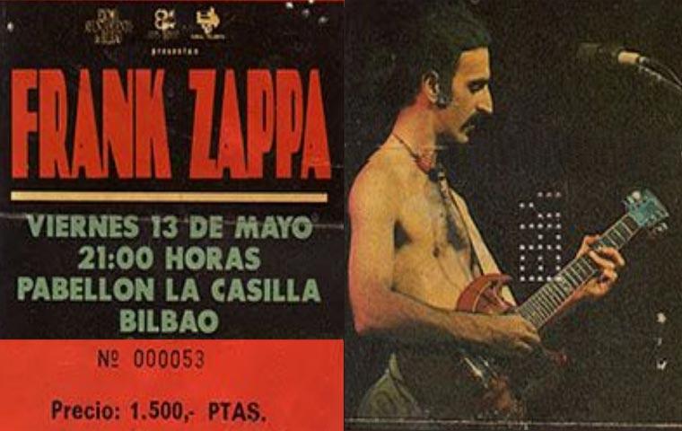 SOINUGELA: Brian Travers, Fetén Fetén, Frank Zappa, Los Lobos, Audience